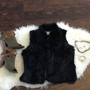 Authentic 100% Rabbit Fur Vest
